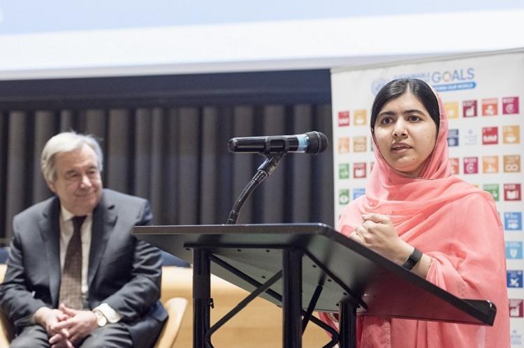 Malala Yousafzai made UN Messenger of Peace