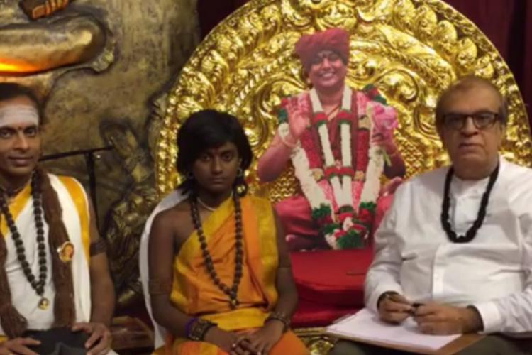 Video: Rajiv Malhotra demonstrates magical 'Third Eye Awakening' of