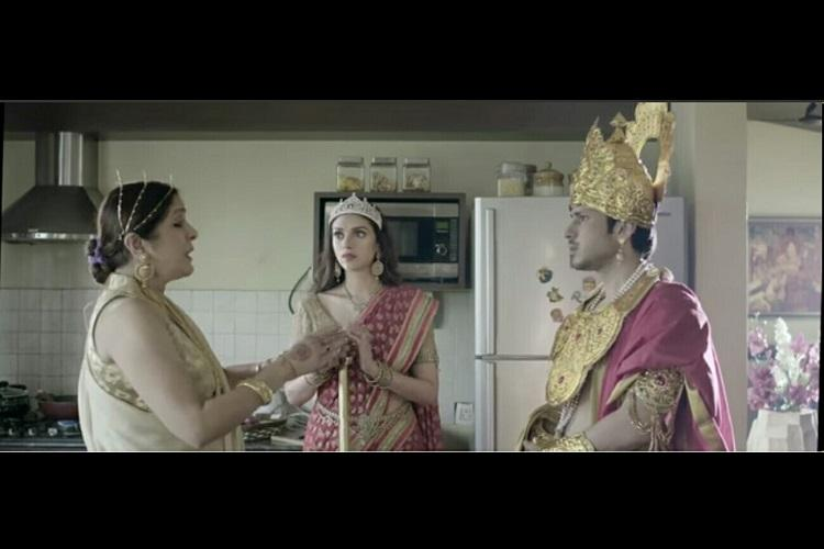 Watch Mamas Boys is an updated take on Draupadis five-way marriage to the Pandavas