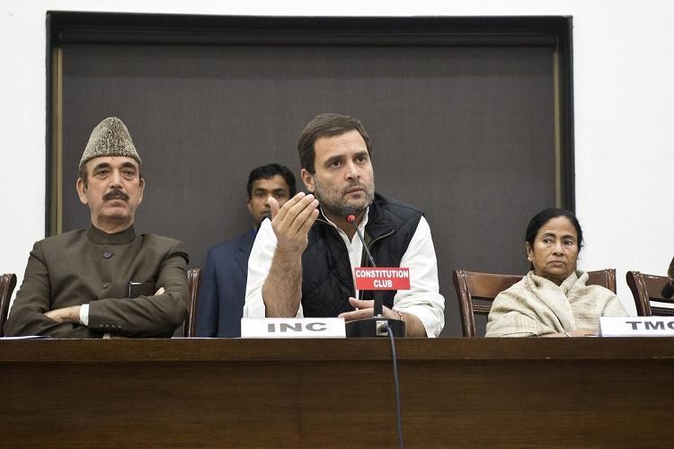 Eight parties discuss common minimum agenda demand for Modis resignation