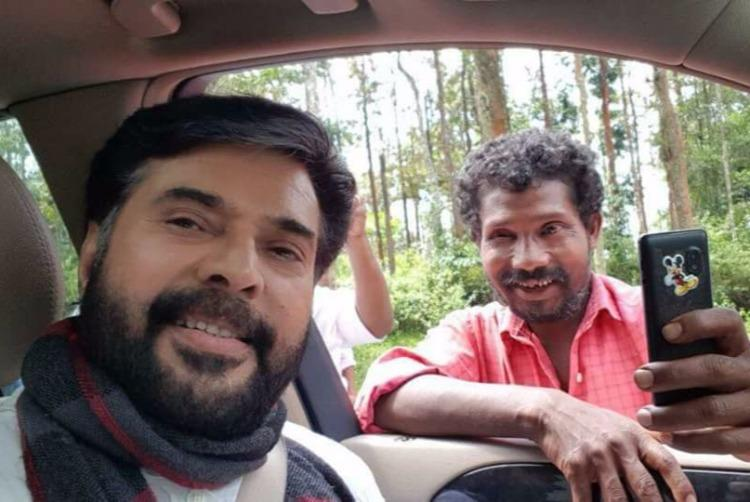 Watch Mammootty stopped his car for this die-hard fan from Wayanad and its now going viral