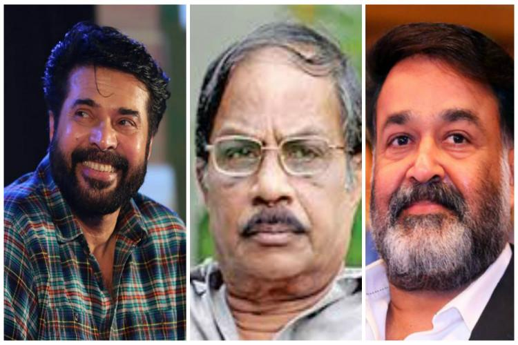 Actors Mammootty Mohanlal writer MT among those ignored for Padma awards from Kerala