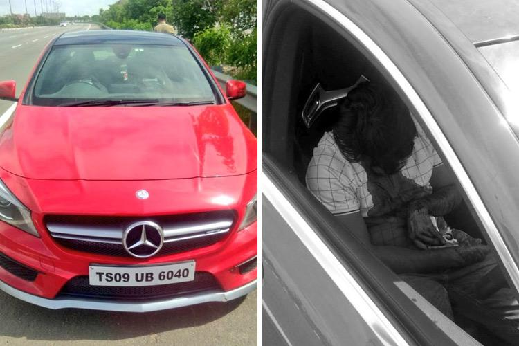 Man found with gunshot wounds in sedan on Hyderabad Outer Ring Road critical