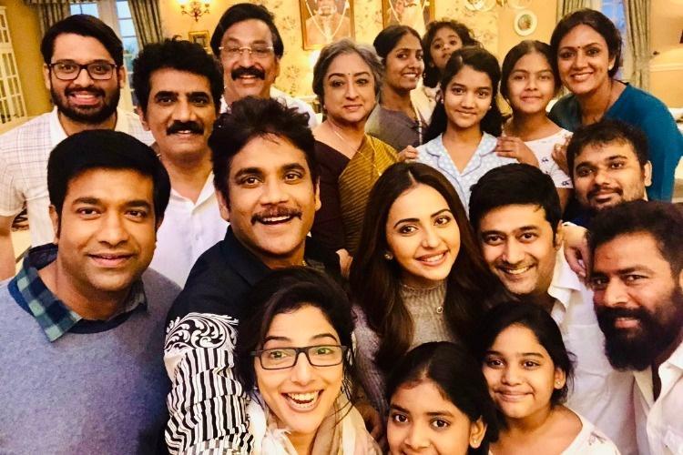 Humour sells more than stunts Nagarjuna cuts down action sequences in Manmadhudu 2