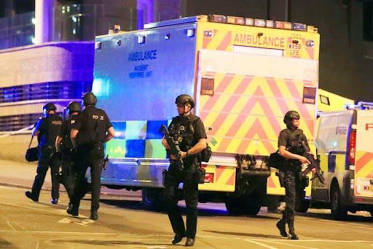 At least 19 killed several injured in explosion at Ariana Grande concert in Manchester