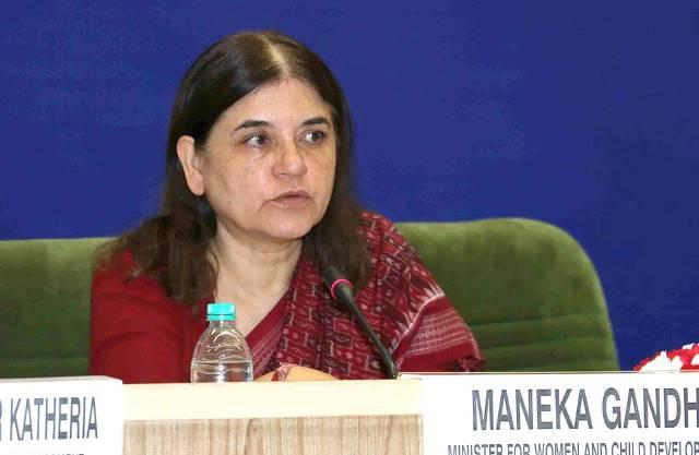 Maneka apologises for other ones remark Justification appalling say trans persons
