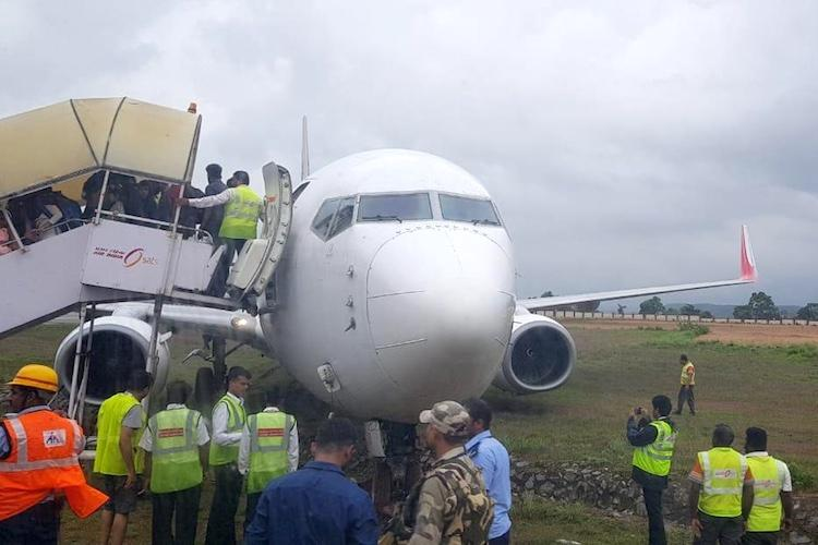 Air India Express plane with 183 passengers veers off taxiway at Mangaluru all safe