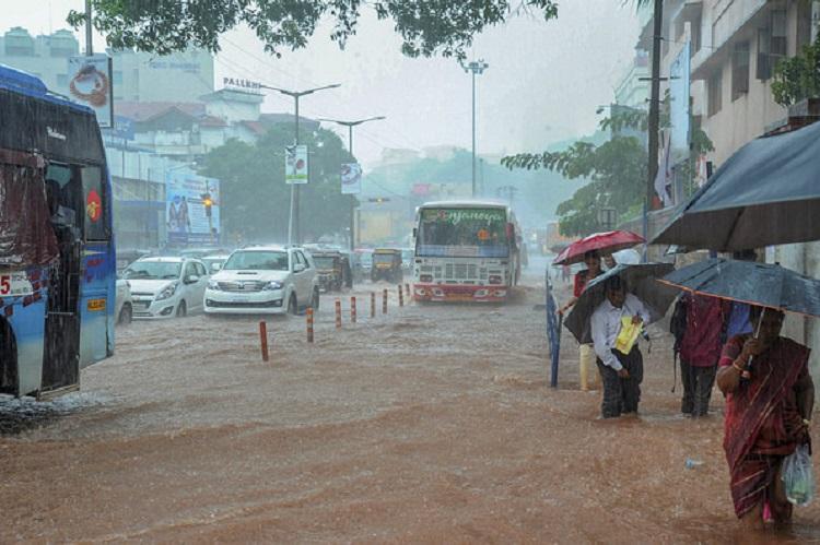 Heavy rains cripple normal life in central, coastal ...