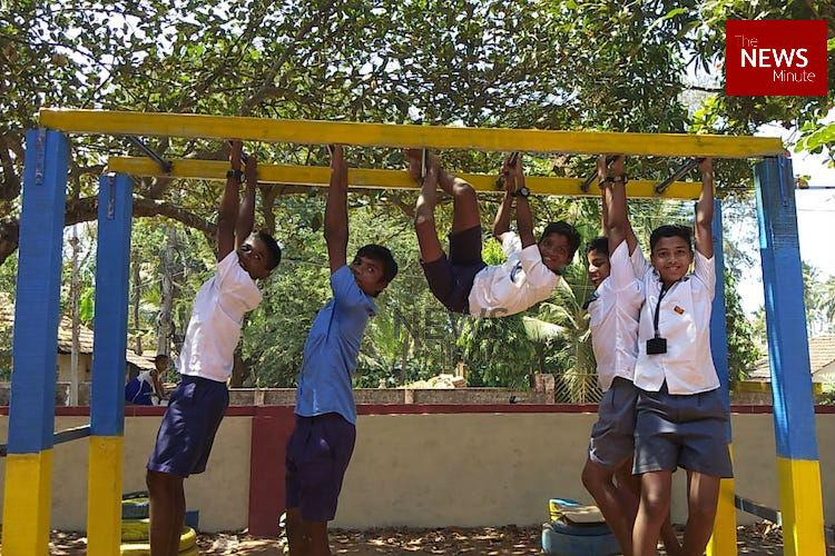 In pictures How junk turned into jungle gyms at this Mangaluru govt school