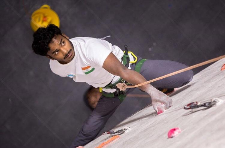 Indias only para-climber has won the country 11 medals with almost no funding