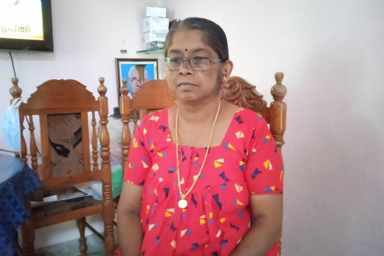 Manimekala Uthra's mother photo by cris
