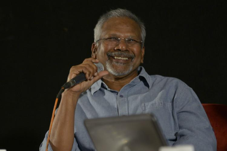 Shooting for Mani Ratnams Kaatru Veliyidai taking place in Hyderabad
