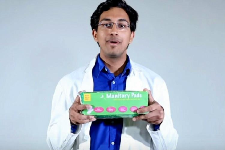 Manitary pads are here Tested by men for WOMEN youll be screaming for one soon