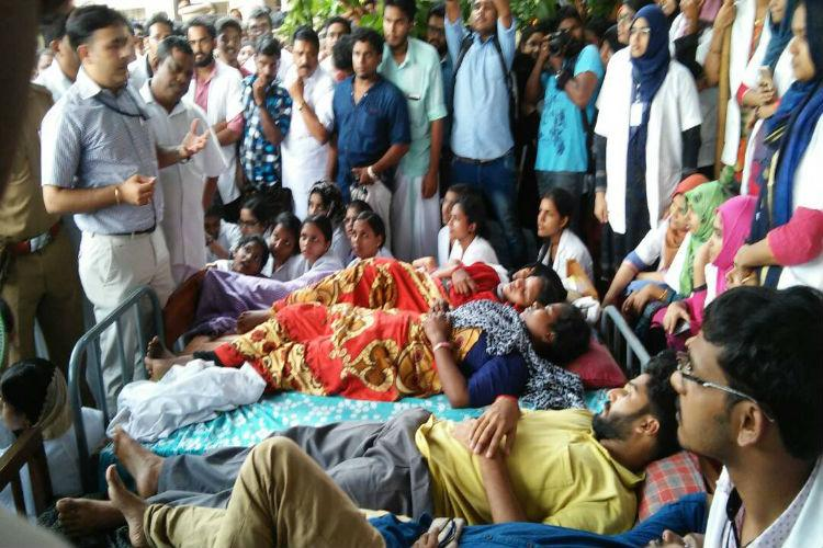 Medical college students in Kerala call off indefinite strike govt agrees to meet demands