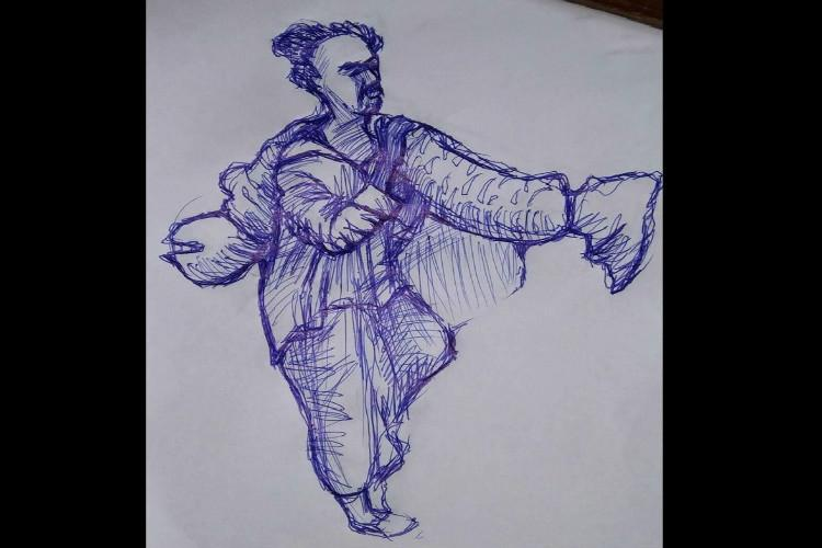 Kerala cop could face action for sharing Odisha man Majhis illustration with critical comment