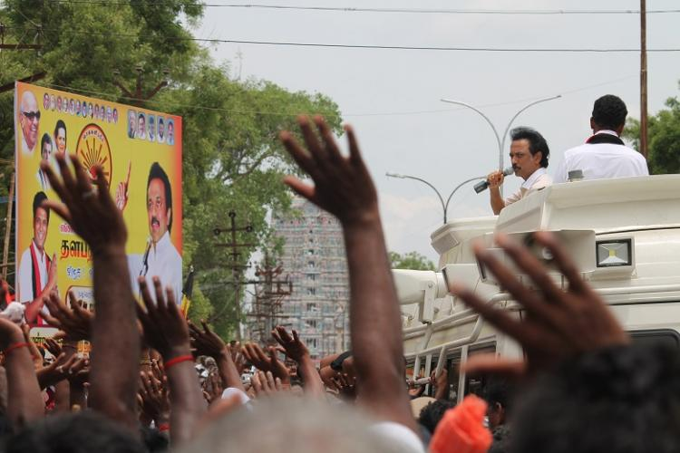 In the Cauvery Delta DMK whips up farmers growing rage against Jayalalithaa