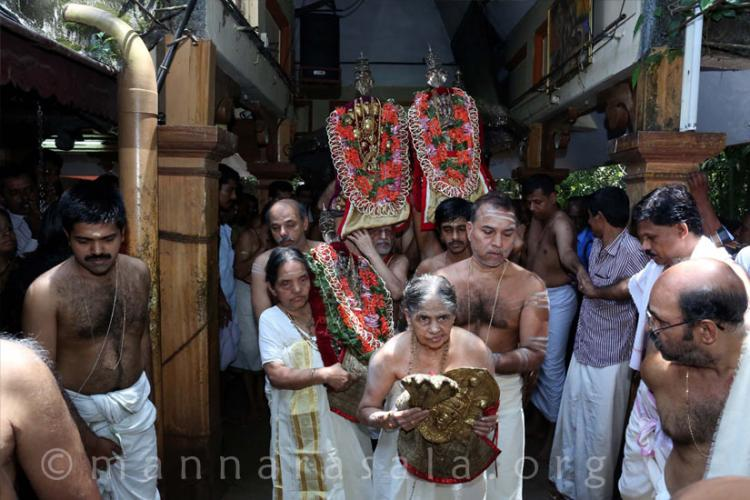 Two temples in Kerala where women worship and are worshipped
