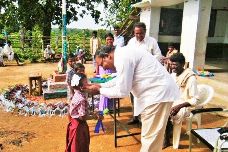 This retired IAS officer is providing education to kids in tribal hamlets of Andhra
