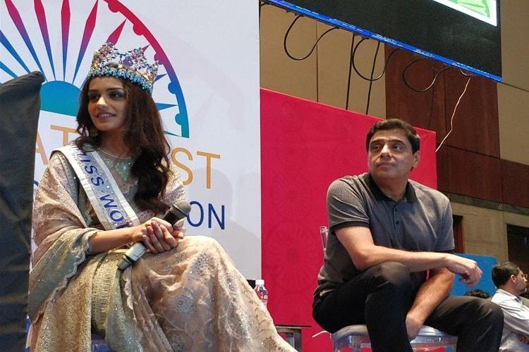 Gender equality possible if men stop treating women differently Miss World Manushi at GES