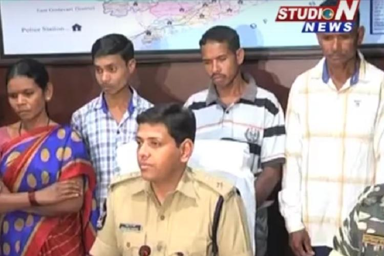 Five top Maoists surrender in Vizag citing ill-health and harsh treatment