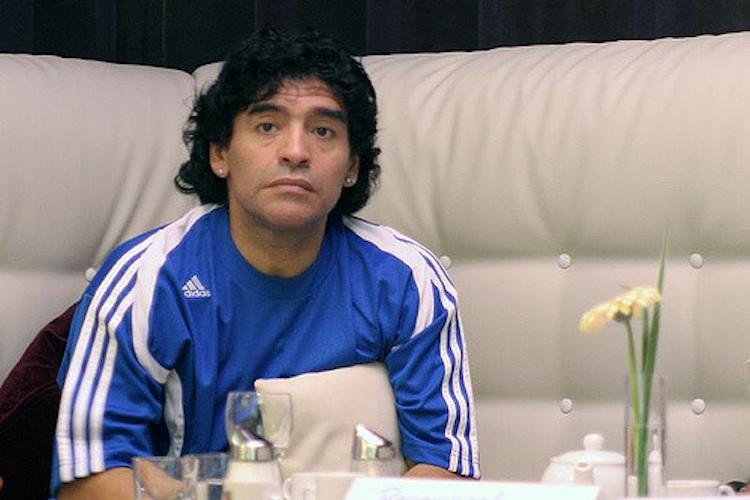 Maradona sees Brazil on the way to World Cup title