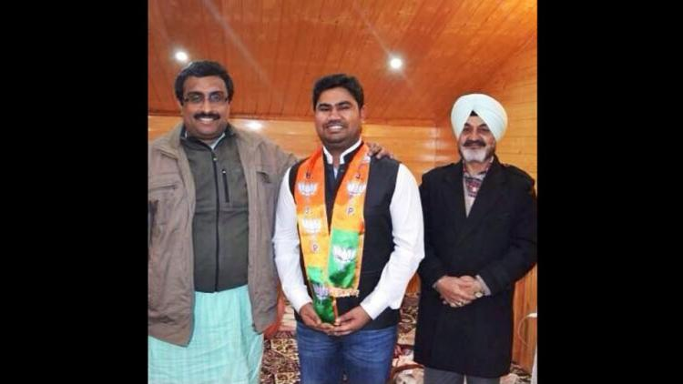 Businessman Jose Charles Martin son of alleged lottery scam kingpin Santiago Martin joined BJP