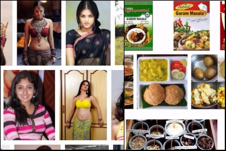 Does masala mean skimpily-clad women when it comes to south India Google says so