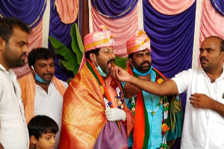 MLA Masala Jayarams men booked for birthday bash in Ktaka but FIR says he wasnt there