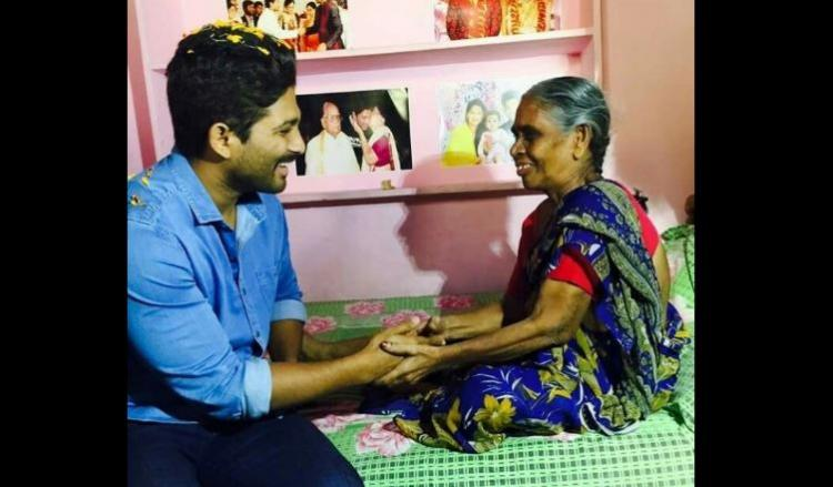 When Tollywood actor Allu Arjun fulfilled the dying wish of his 64-year-old fan