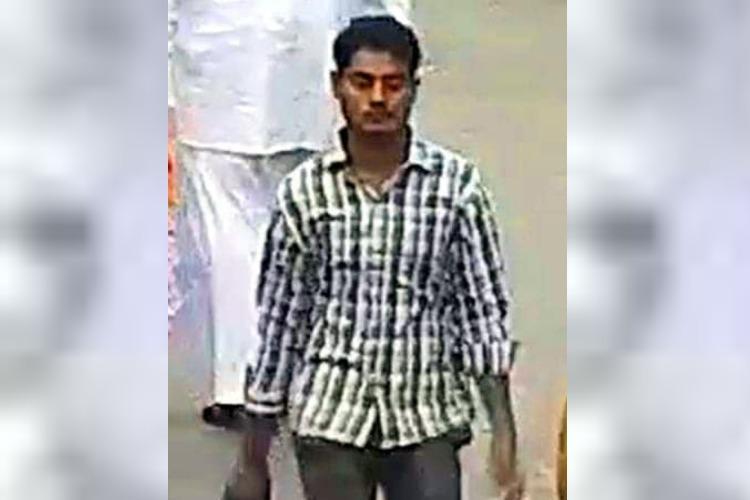 Tirupati temple crown theft Cops release image of suspect