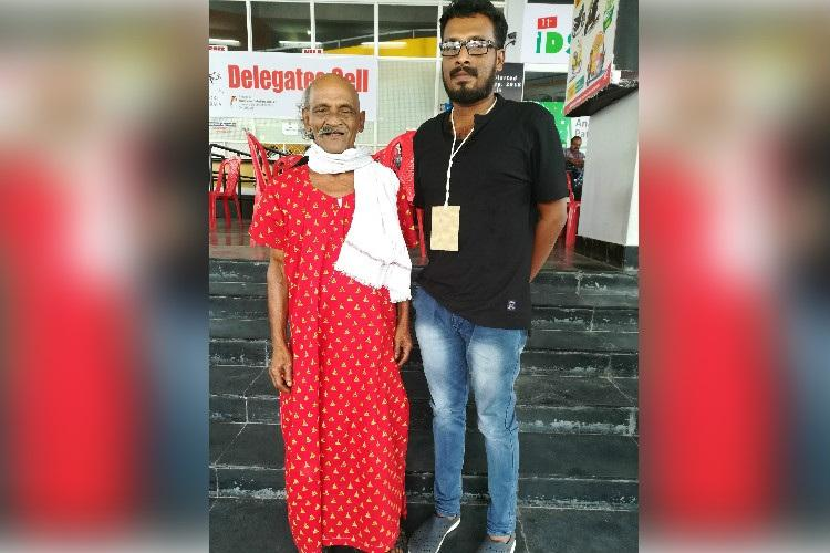 Maxi Maman Meet the Kerala man protesting injustices in a nightie with half shaved head
