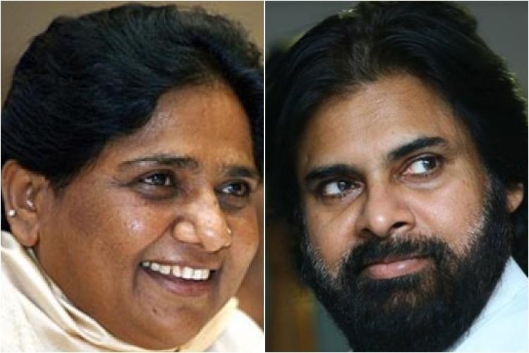 A Pawan Kalyan-BSP tie-up may give a tough time to Naidu and Jagan
