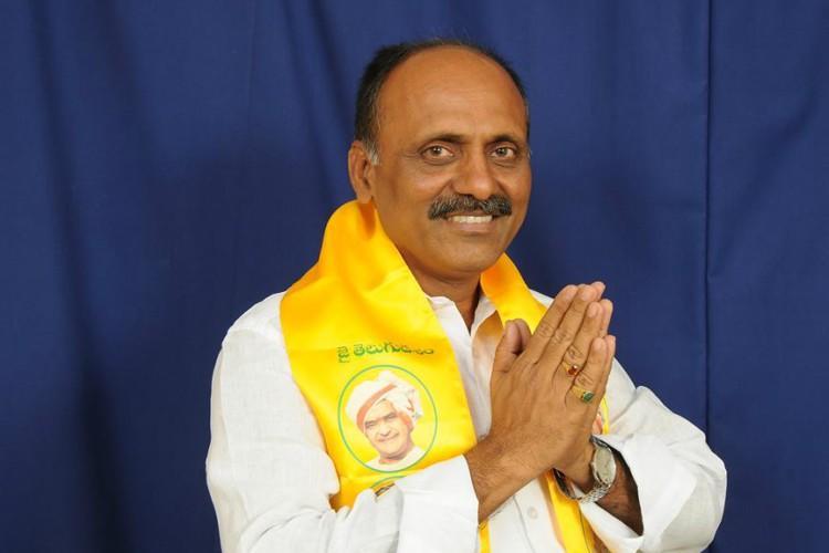 Chandrababu Naidu suspends Rajampet MLA Mallikarjuna Reddy he turns to YSRCP