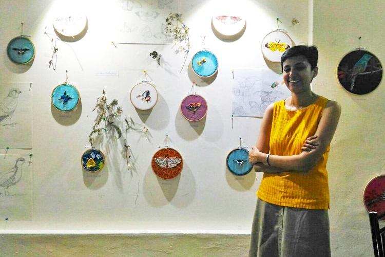 Magic from waste Meet the artist who makes enchanting artworks out of cloth scraps