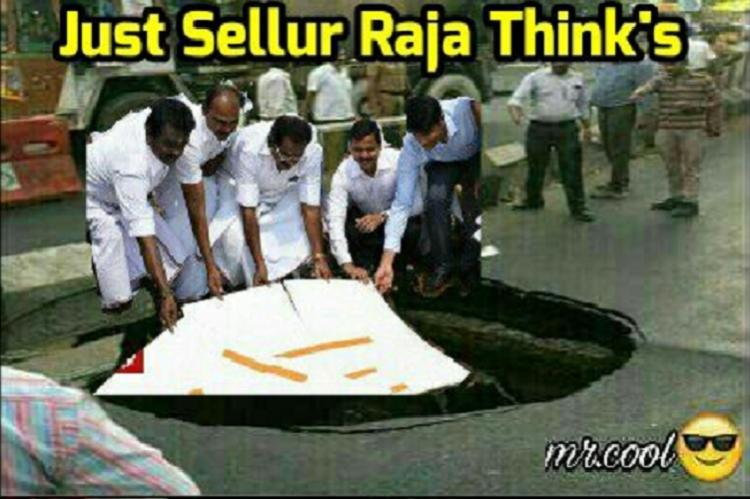 Every crater in Chennai a gateway for memes Kilpauk cave-in inspires hilarious ones