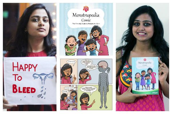 A comic book with a difference It busts myths about menstruation bags media award