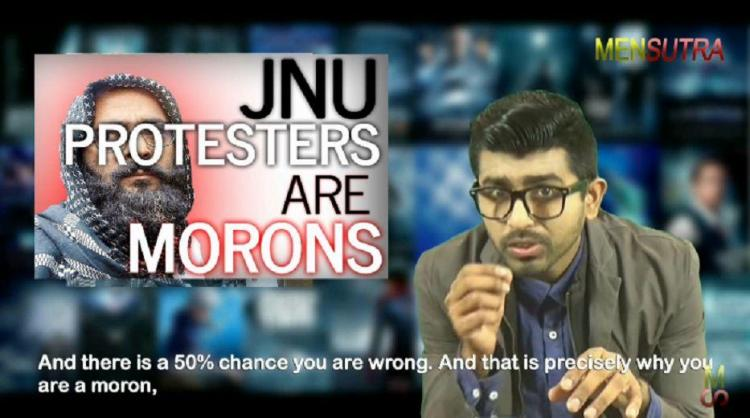 A point-by-point rebuttal of that logical Mensutra video calling JNU students morons
