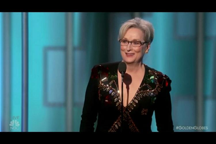Im the most overrated actress Meryl Streep hits back at US President Donald Trump