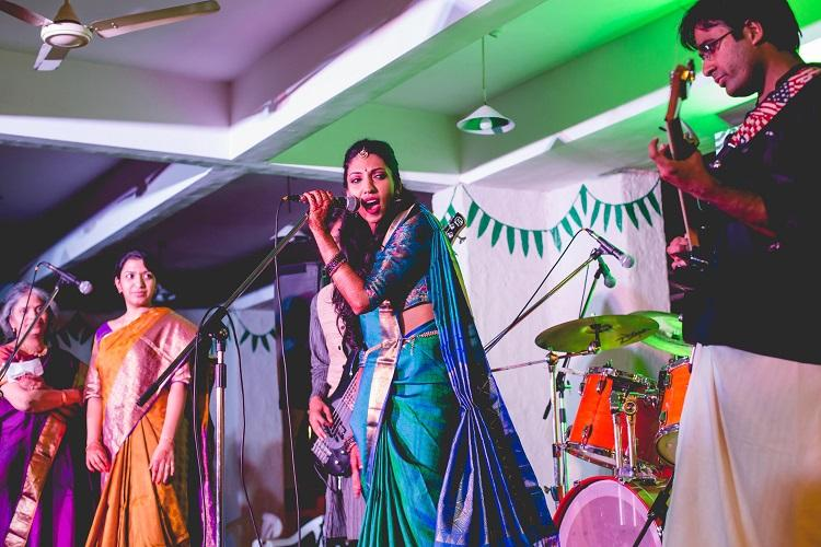 Heavy metal mangalyam Meet the Tam-Brahm couple who rocked their own wedding