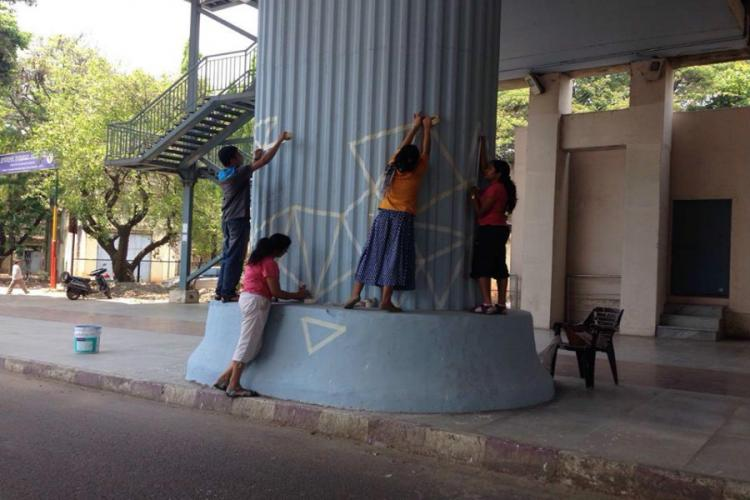 Bengaluru group solicits volunteers for painting of metro pillars heres how you can help