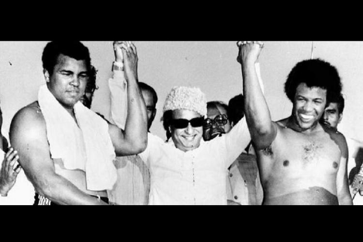 When Muhammad Ali came to Madras and held hands with MGR