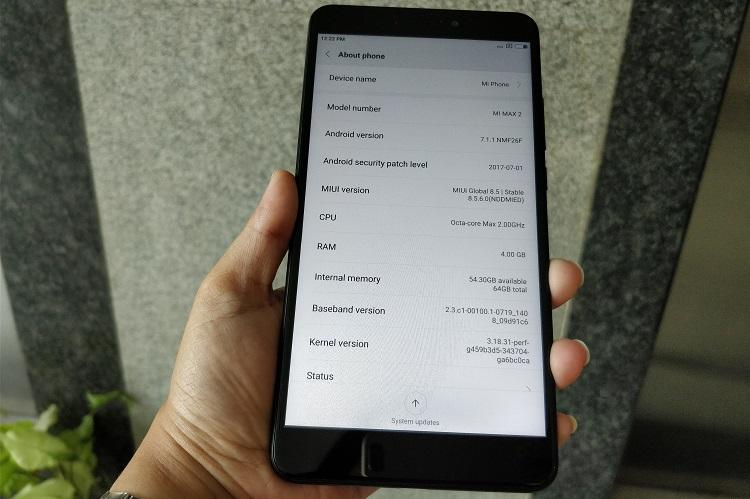 Xiaomi Mi Max 2 Affordable phablet for content consumption