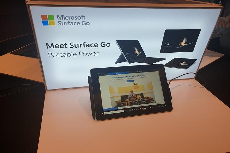 Surface Go to add substantially to our growth in India in 2019 Microsoft