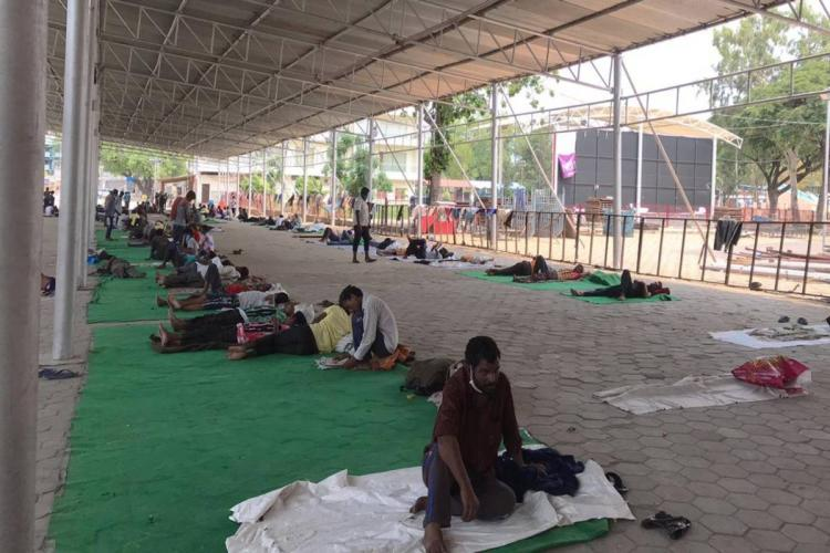 Giving us food not enough Migrant workers in Hyderabad speak longingly of home