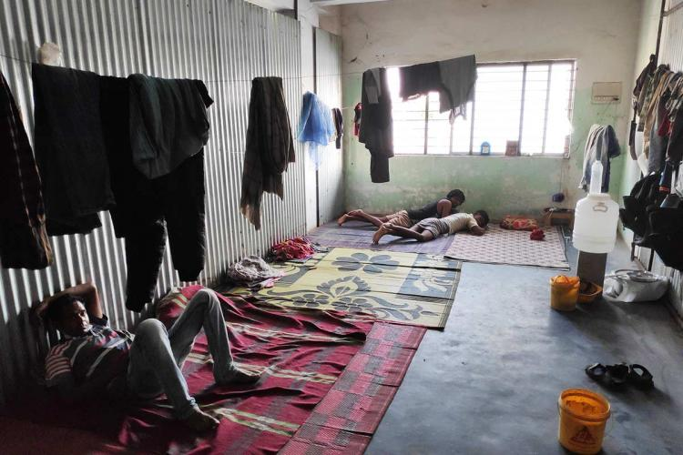 Months after leaving Bengaluru migrant workers say no plans of returning yet