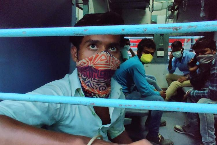 For thousands of migrant workers in Bengaluru a train ticket is like winning a lottery