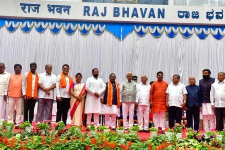 Karnataka cabinet expansion Lingayat community leaders snag lions share of ministries