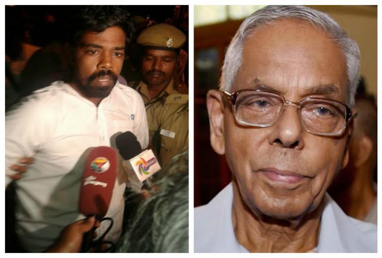 Chappals hurled at former NSA MK Narayanan at The Hindu Centres event in Chennai