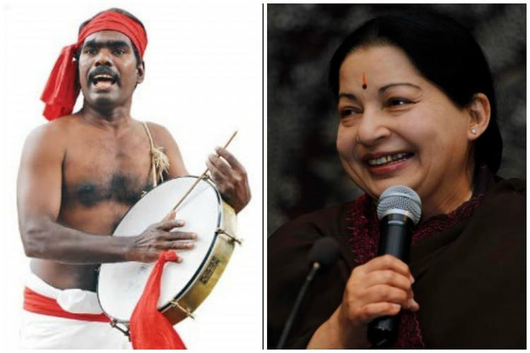 Sedition case on Tamil folk-artiste and activist Kovan for criticising Jayalalithaa govt