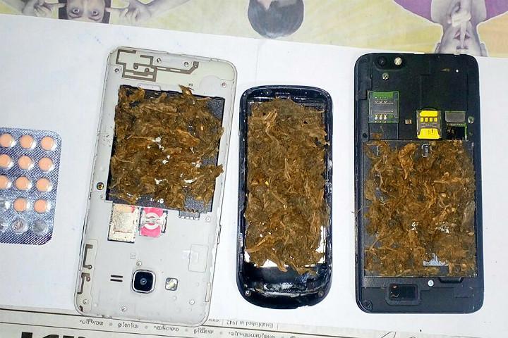 Upgrading their tricks Kerala students stuffed ganja inside mobile phones